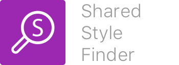 Shared Style Finder