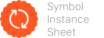 Symbol Instance Sheet