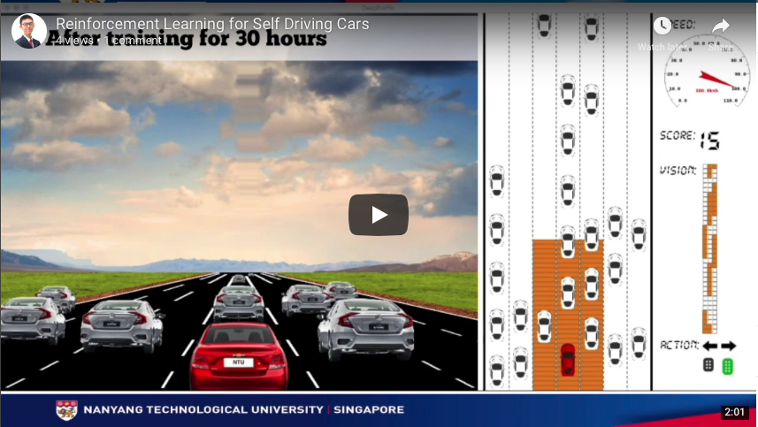 Reinforcement-Learning-for-Self-Driving-Cars | Project on design and