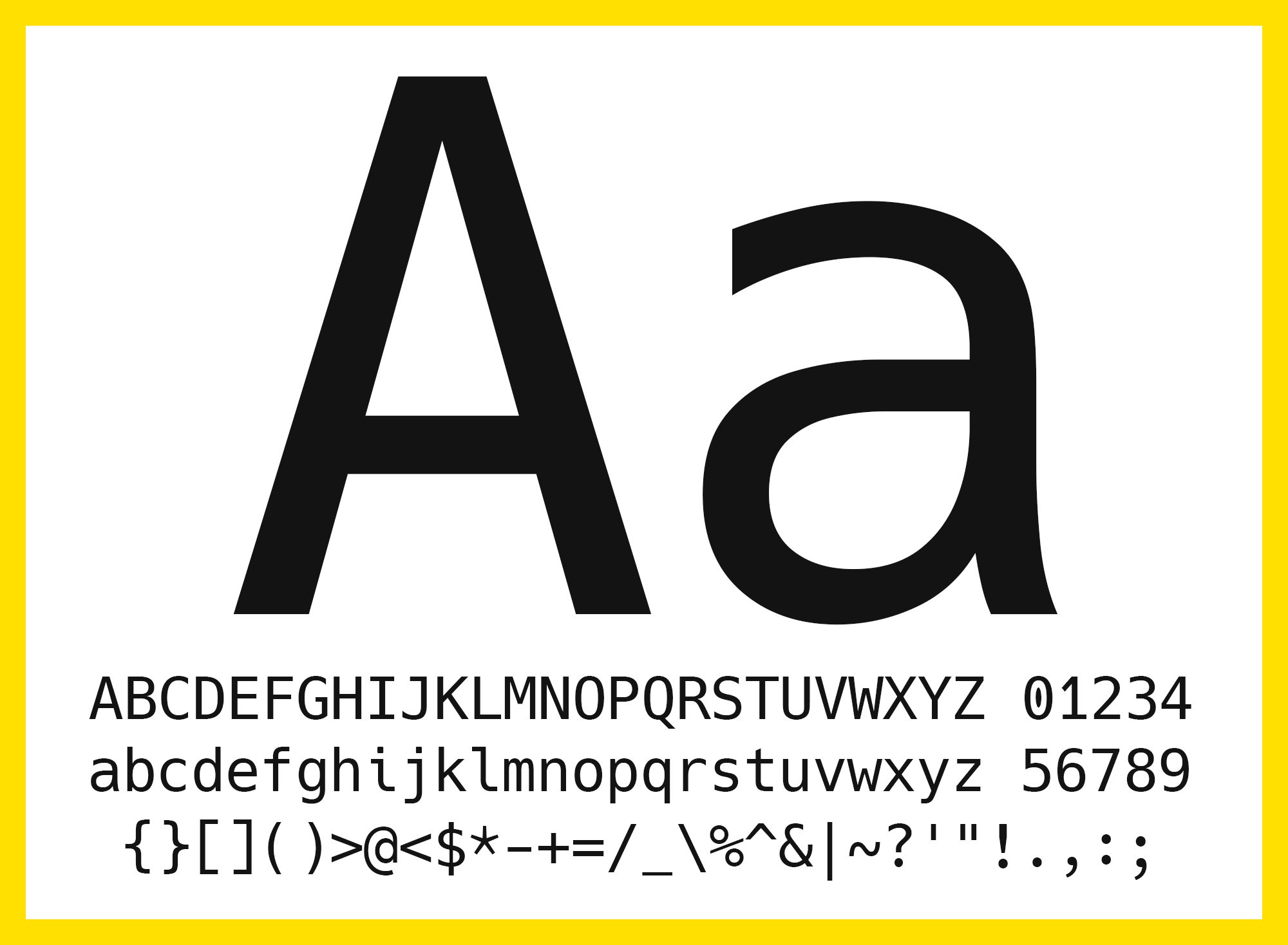 Hack — a typeface designed for source code