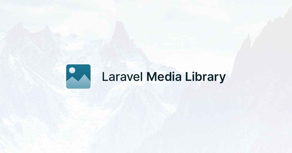 Social Card of Laravel Media Library