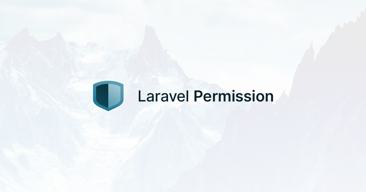 Social Card of Laravel Permission