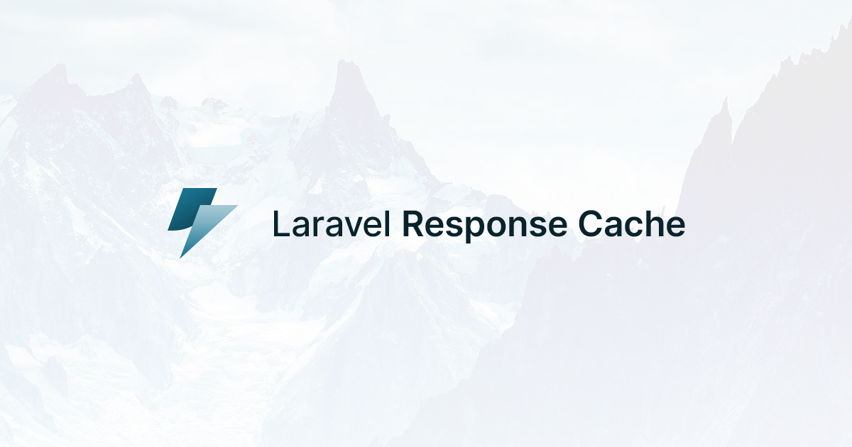 Social Card of Laravel Response Cache