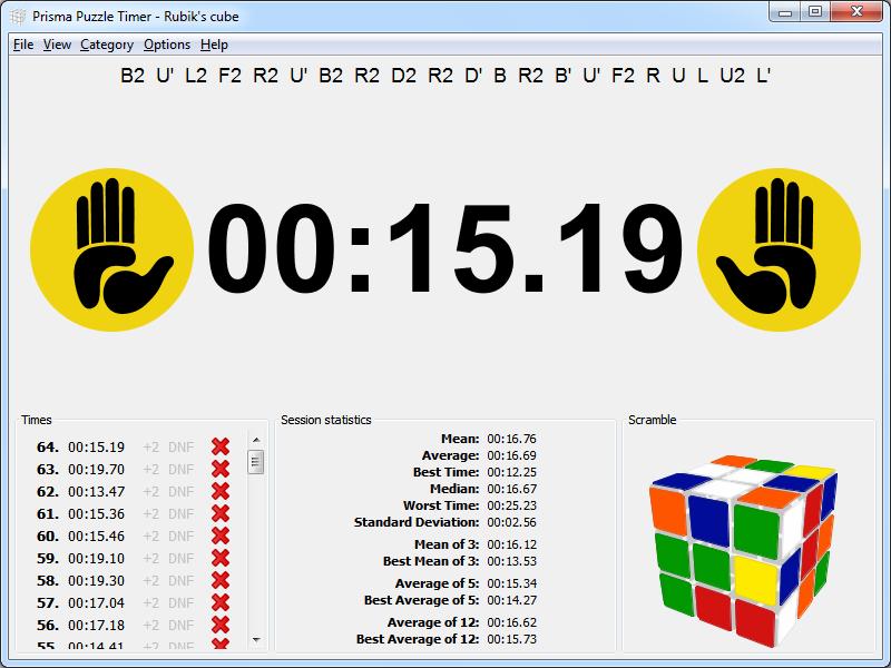 Rubik cube timer download