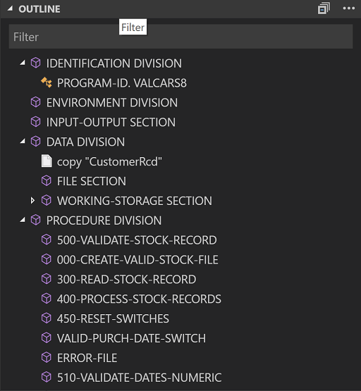 COBOL - Visual Studio Marketplace