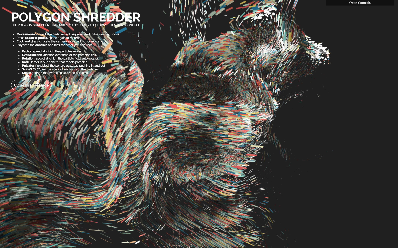 GitHub - spite/polygon-shredder: The polygon shredder that