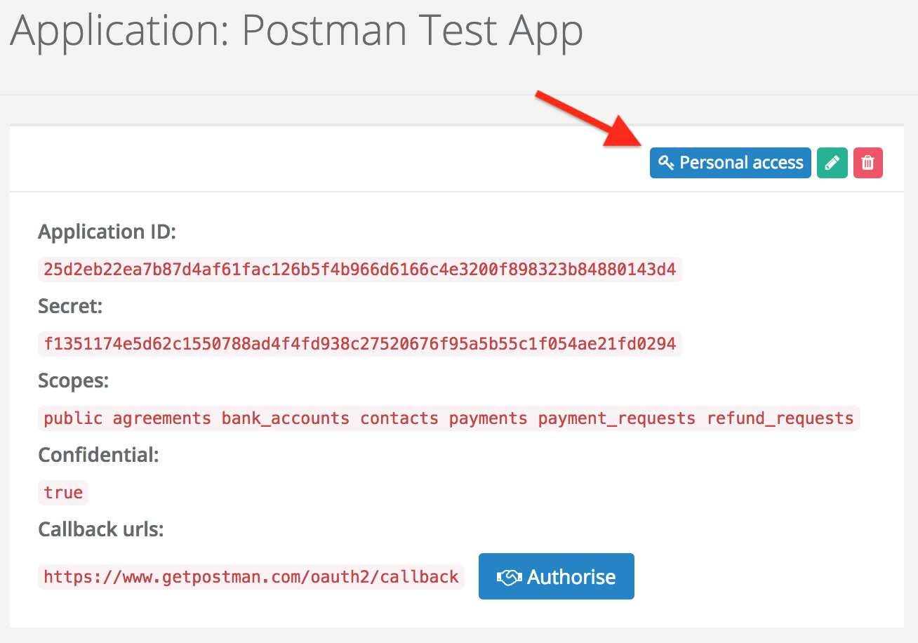 Split locate personal OAuth2 tokens