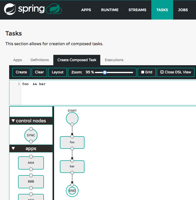 Composed Task Designer
