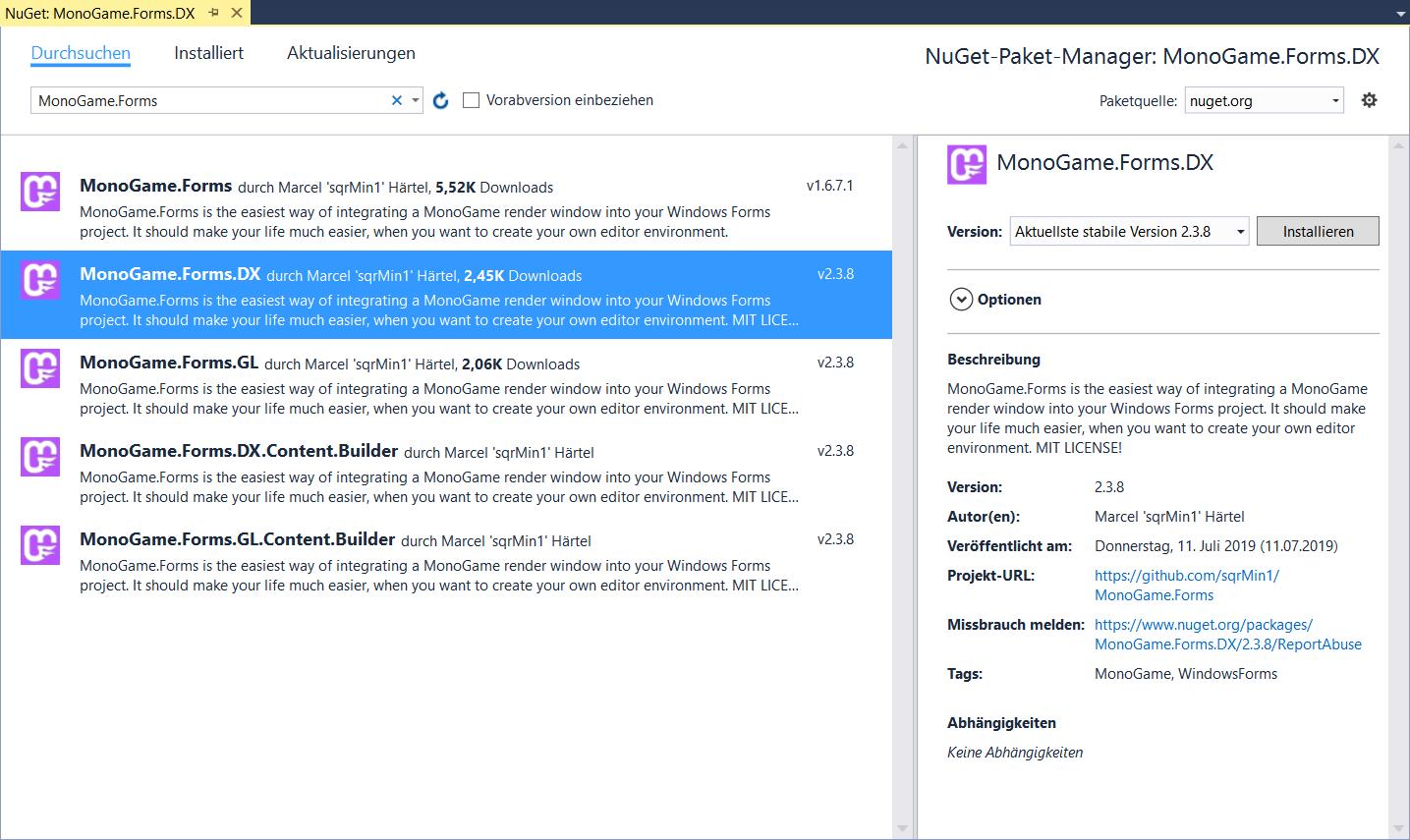 MonoGame Forms - Create your Editor Environment! - Showcase