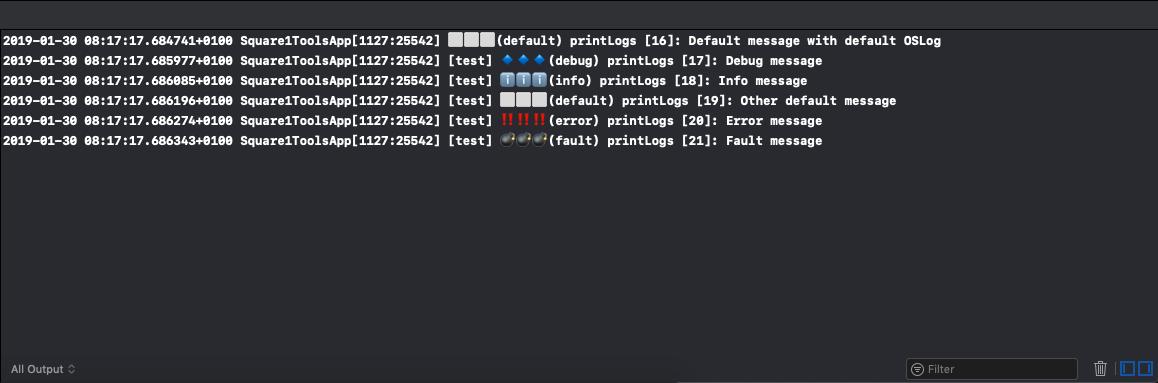 Xcode Logs