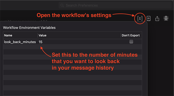 Workflow Variables