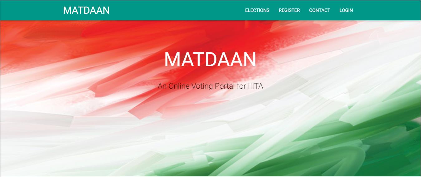 Online-Voting-System/README md at master · srajat/Online-Voting