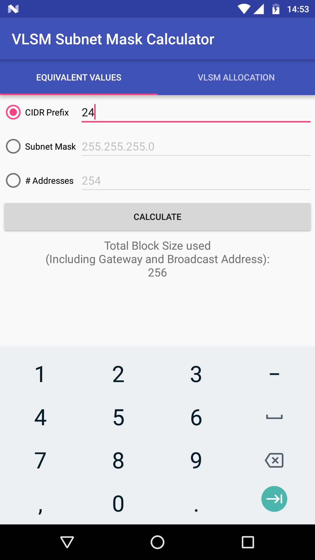 GitHub - srbrettle/VLSM-Subnet-Mask-Calculator: Android