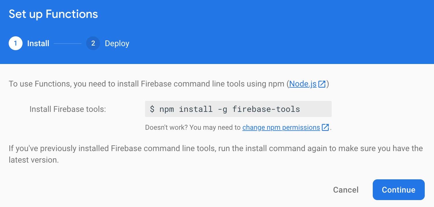 Firebase Initiate