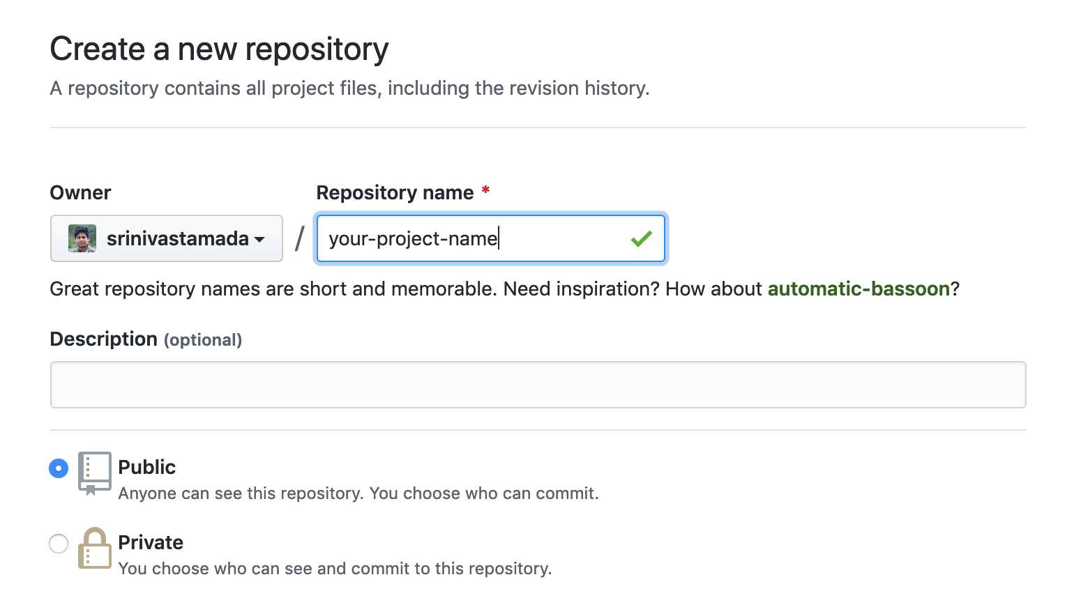 Create a new GIT repository