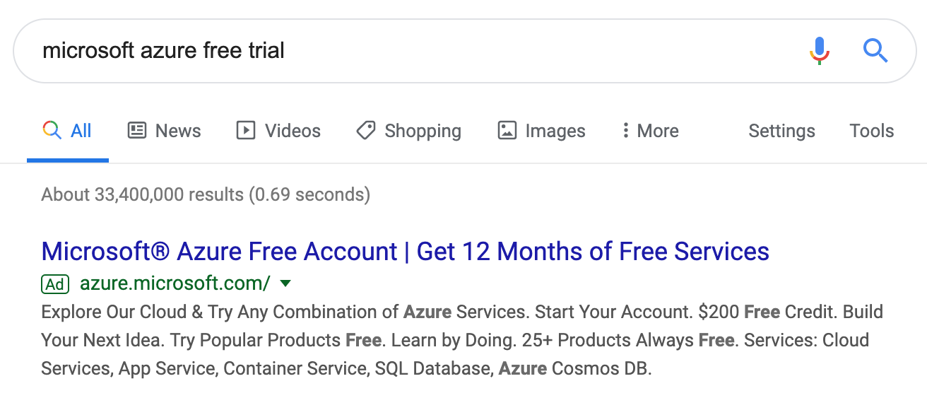 Google Cloud Free Tier