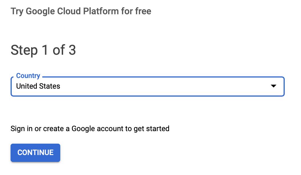 Google Cloud Free Trial