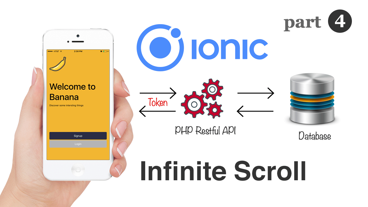 Infinite Scrolling using Ionic and Angular with RESTful APIs