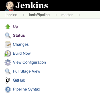 Jenkins Pipeline for Ionic with Bitbucket