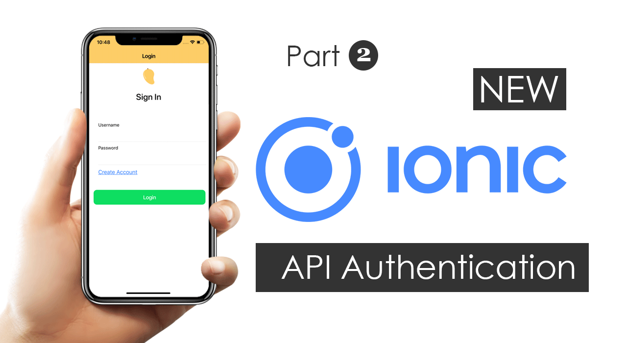Ionic 5 and Angular 8:Create a Welcome Page with Login and Logout.