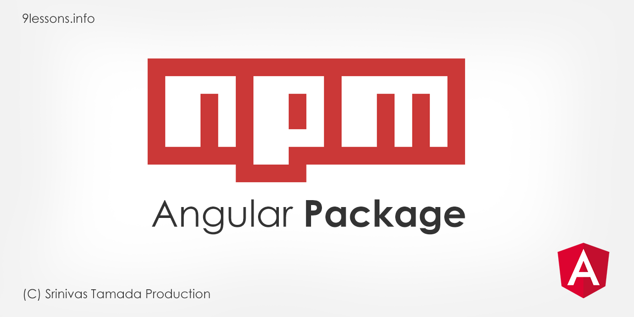 Create Angular NPM Package