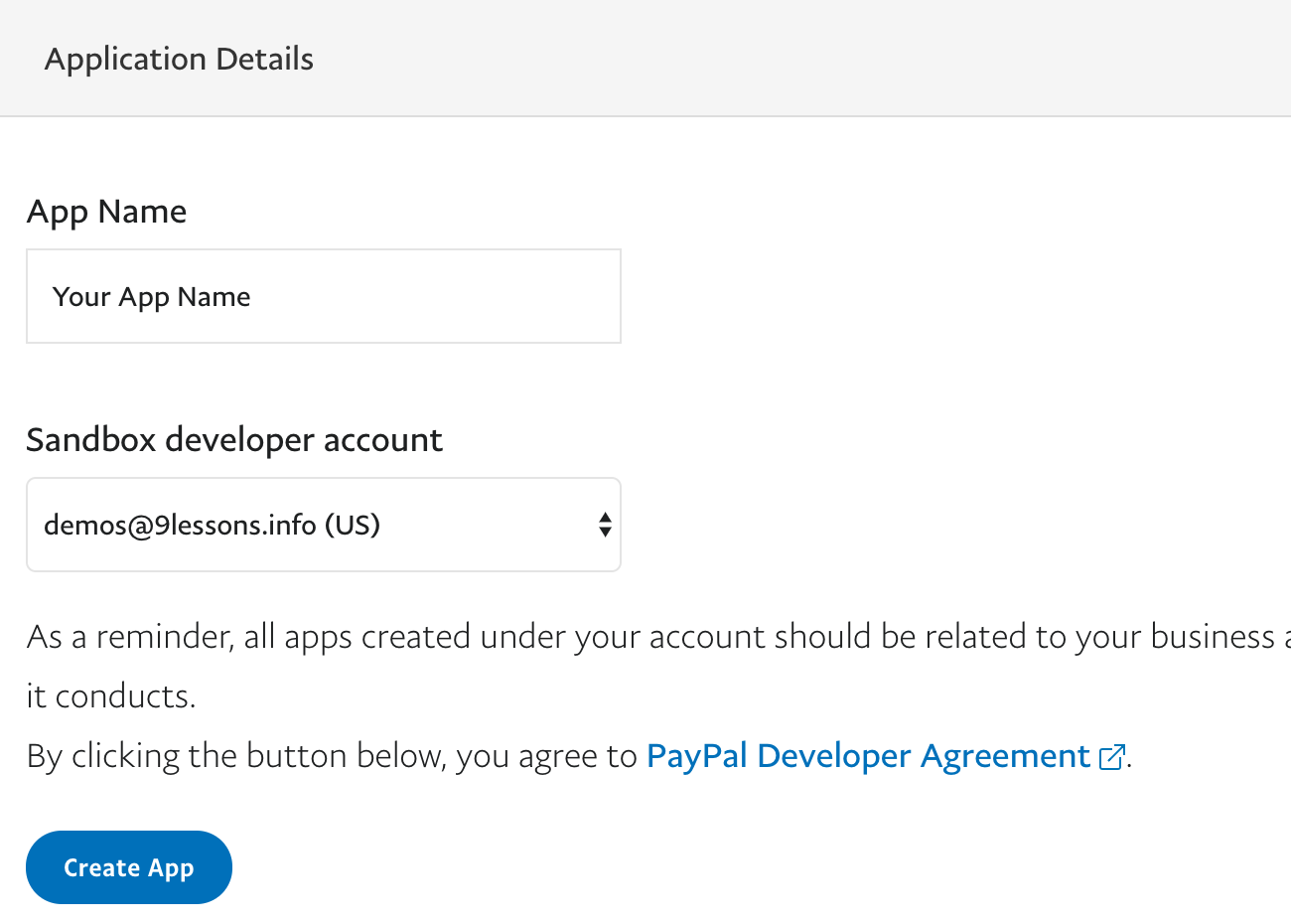 Getting started with PayPal Express Checkout
