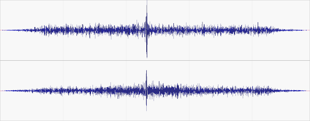 Isolated event in the raw data band filtered 80-300Hz