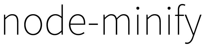 node-minify - npm