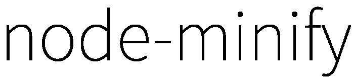 node-minify