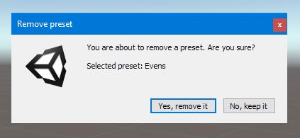 Remove Preset Screenshot