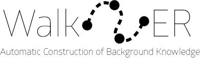 Walk-ER Logo, Automatic Construction of Background Knowledge