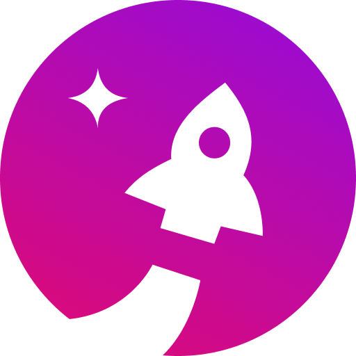 Starship rocket icon