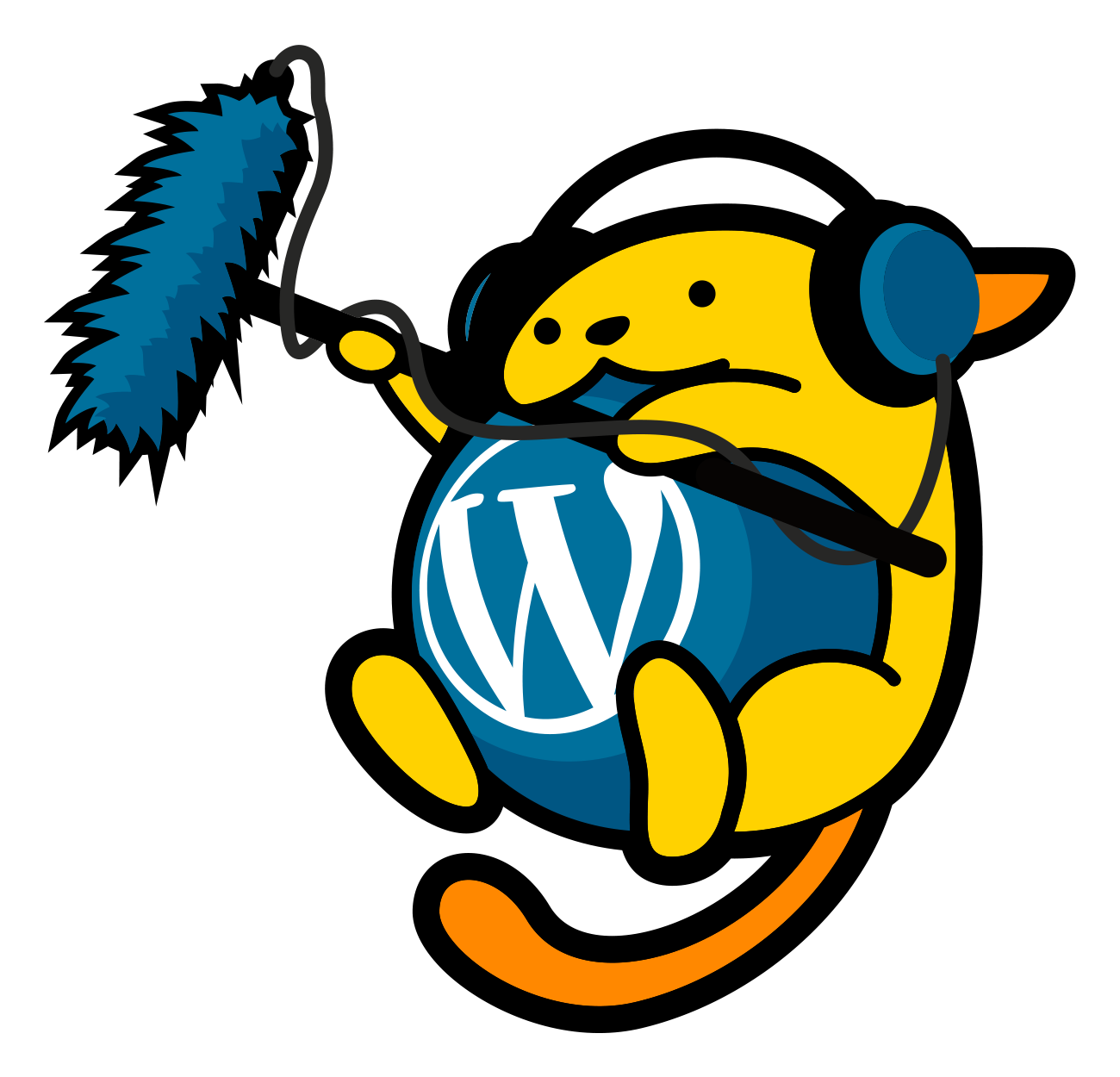 WordPress.TV micro Wapuu