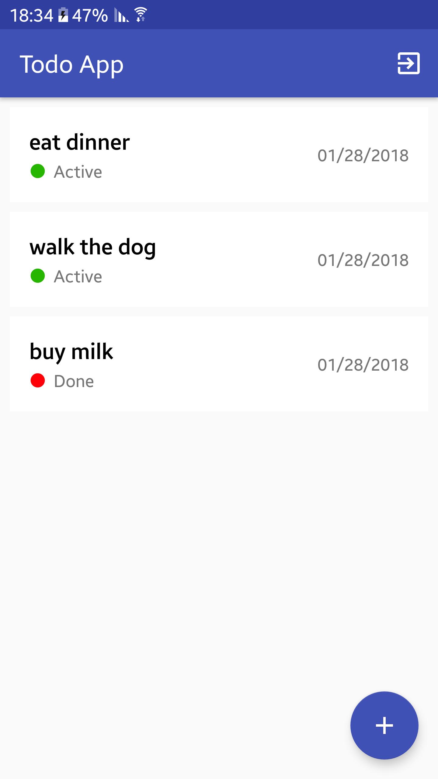 GitHub - stavelmashally/android-mvp-todoapp: Sample app