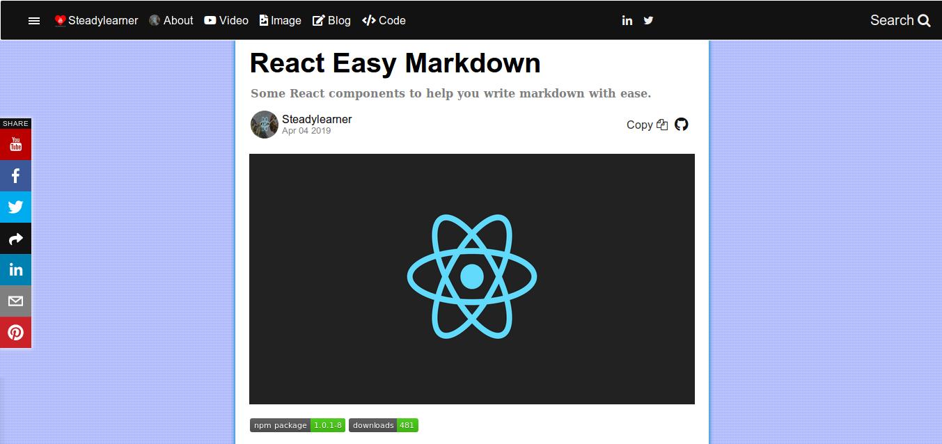 react-easy-md - npm