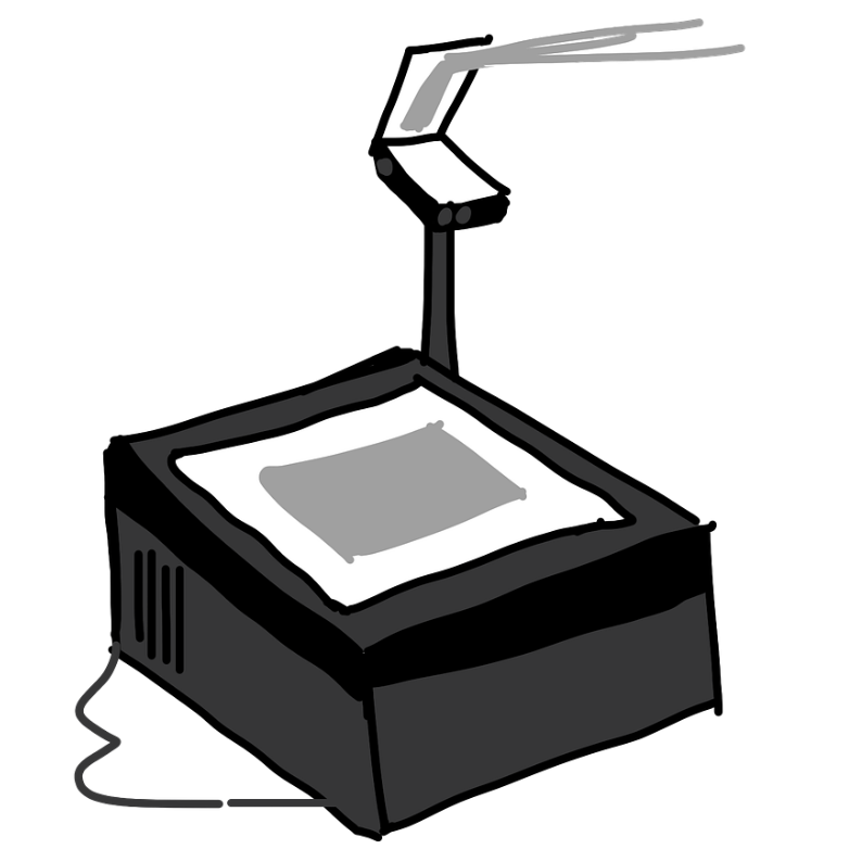 picture of a projector