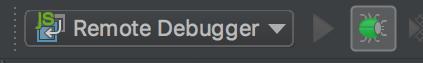 Start Remote Debugger in WebStorm