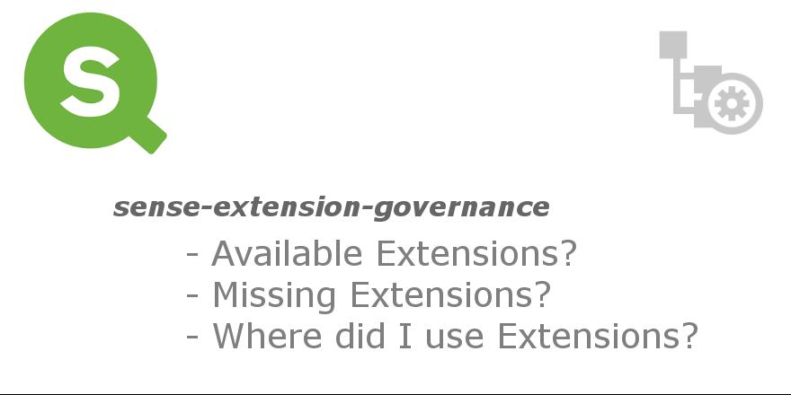 GitHub - stefanwalther/sense-extension-governance: Analyze