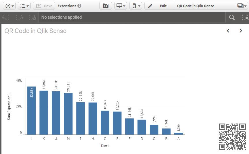 GitHub - stefanwalther/sense-qr-code: QR Code Visualization