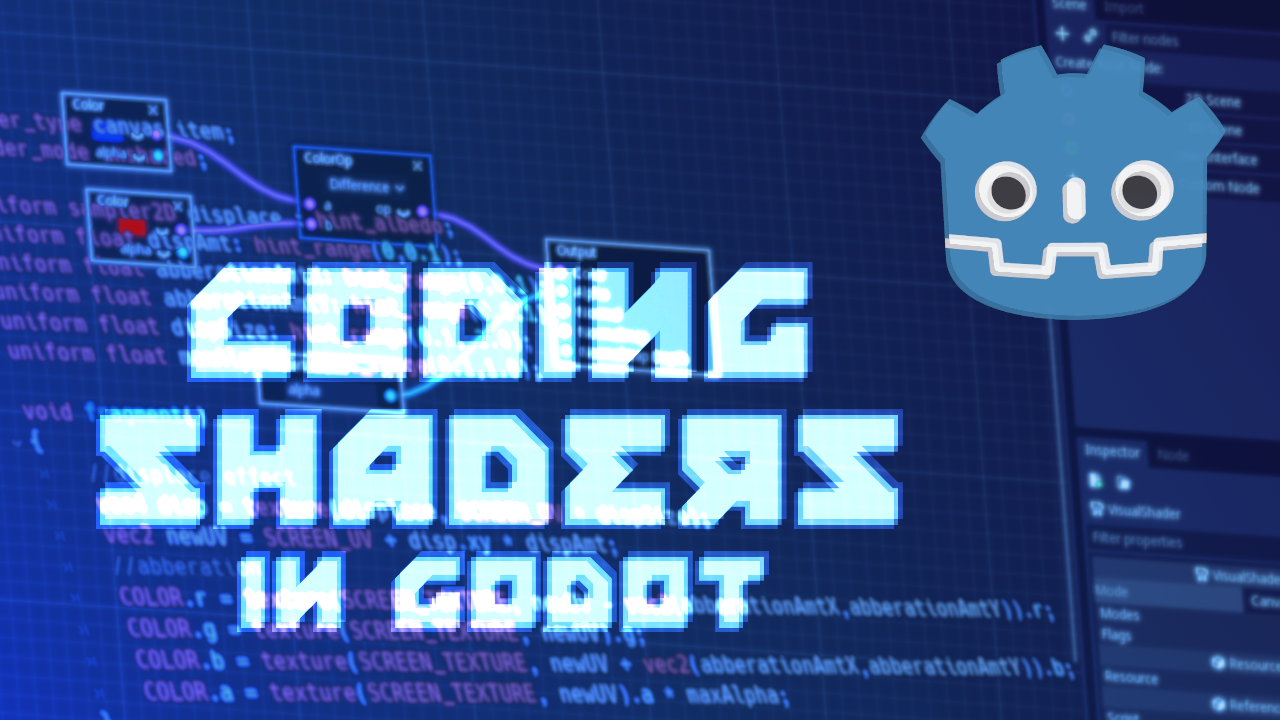 Coding Shaders in Godot Part-1