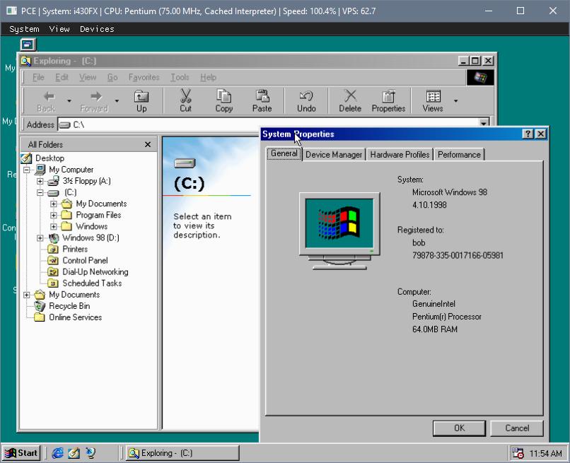 GitHub - stenzek/pce: PC simulator/emulator targeting a