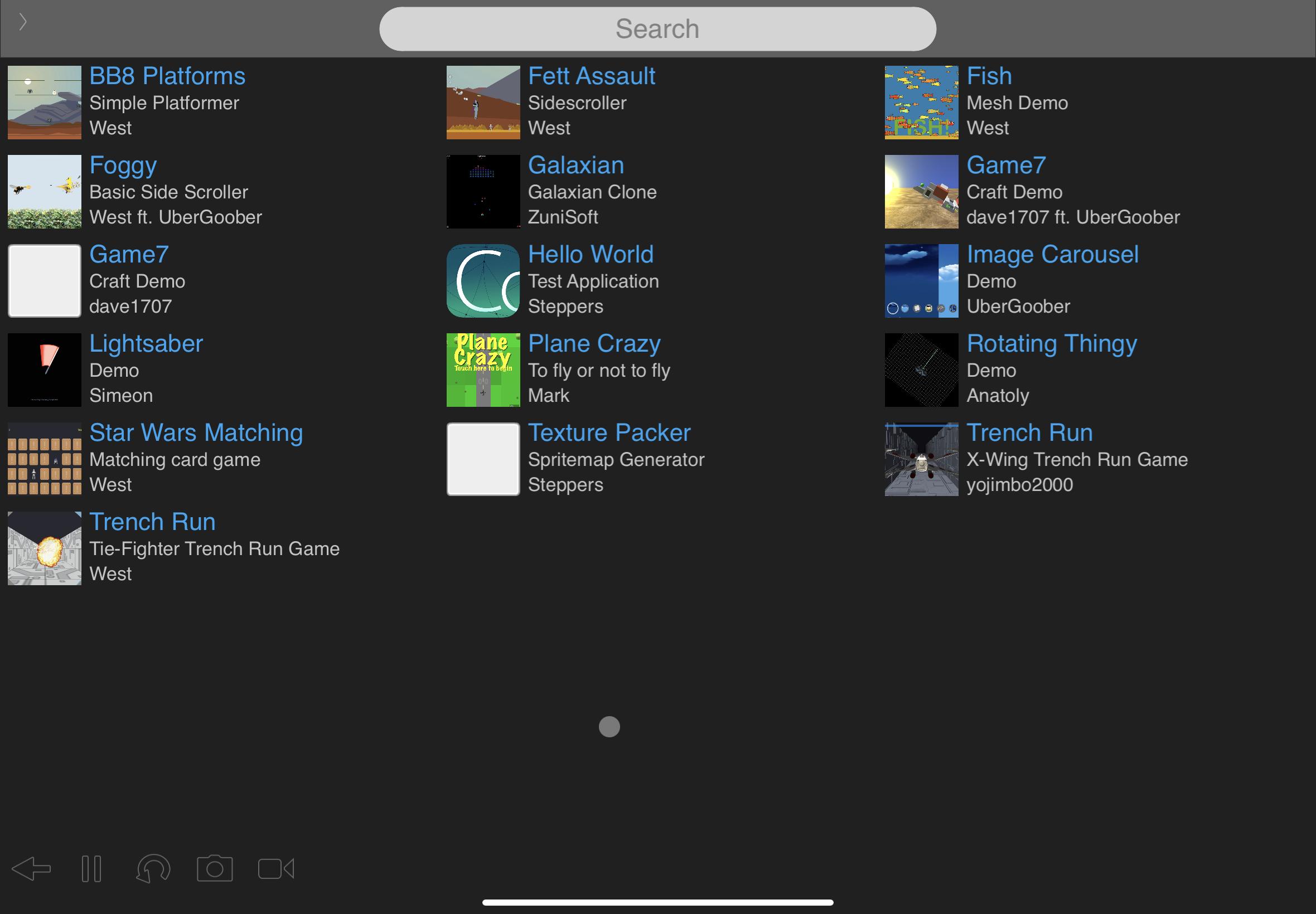 1.0a6 iPad
