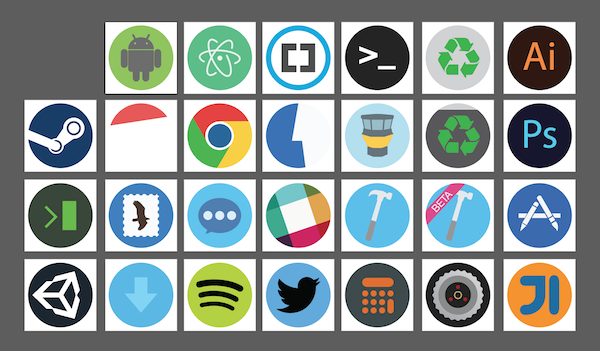 Sample of Icons
