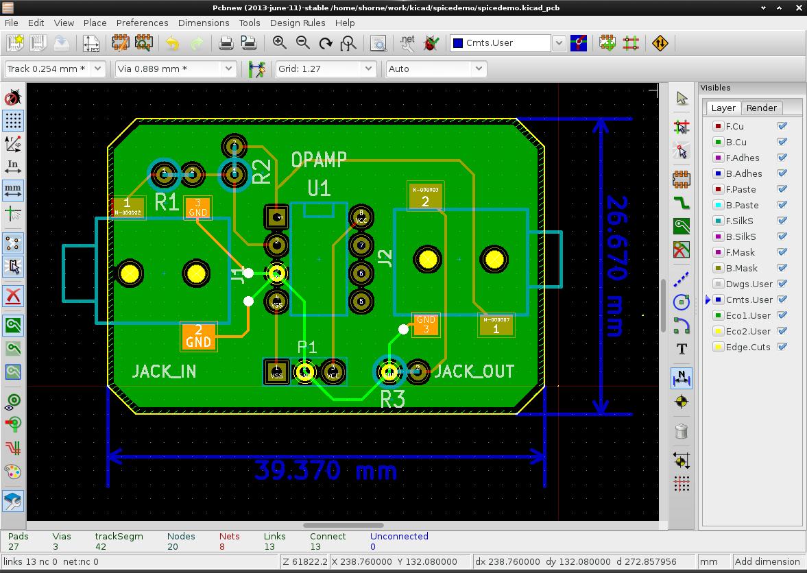 Github Stffrdhrn Kicad Spice Demo Of Simulating Ubuntu Circuit Simulator Pcb