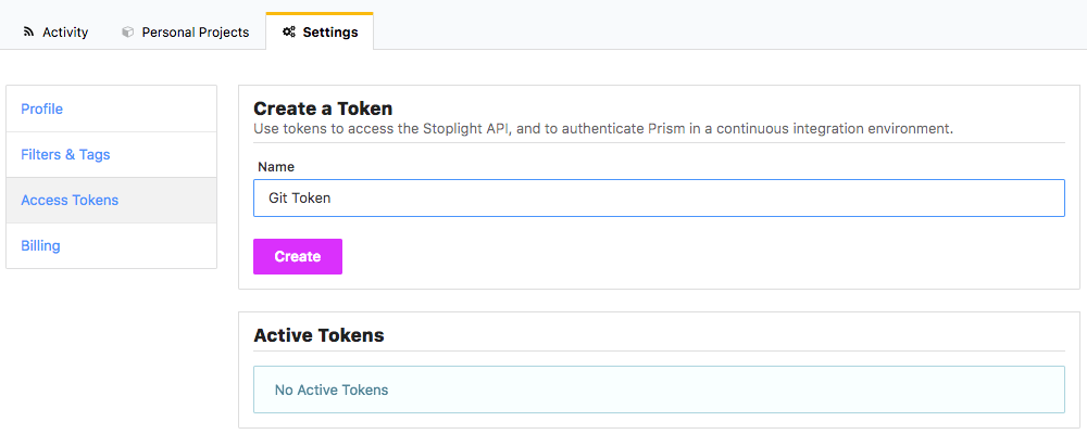 Access Tokens
