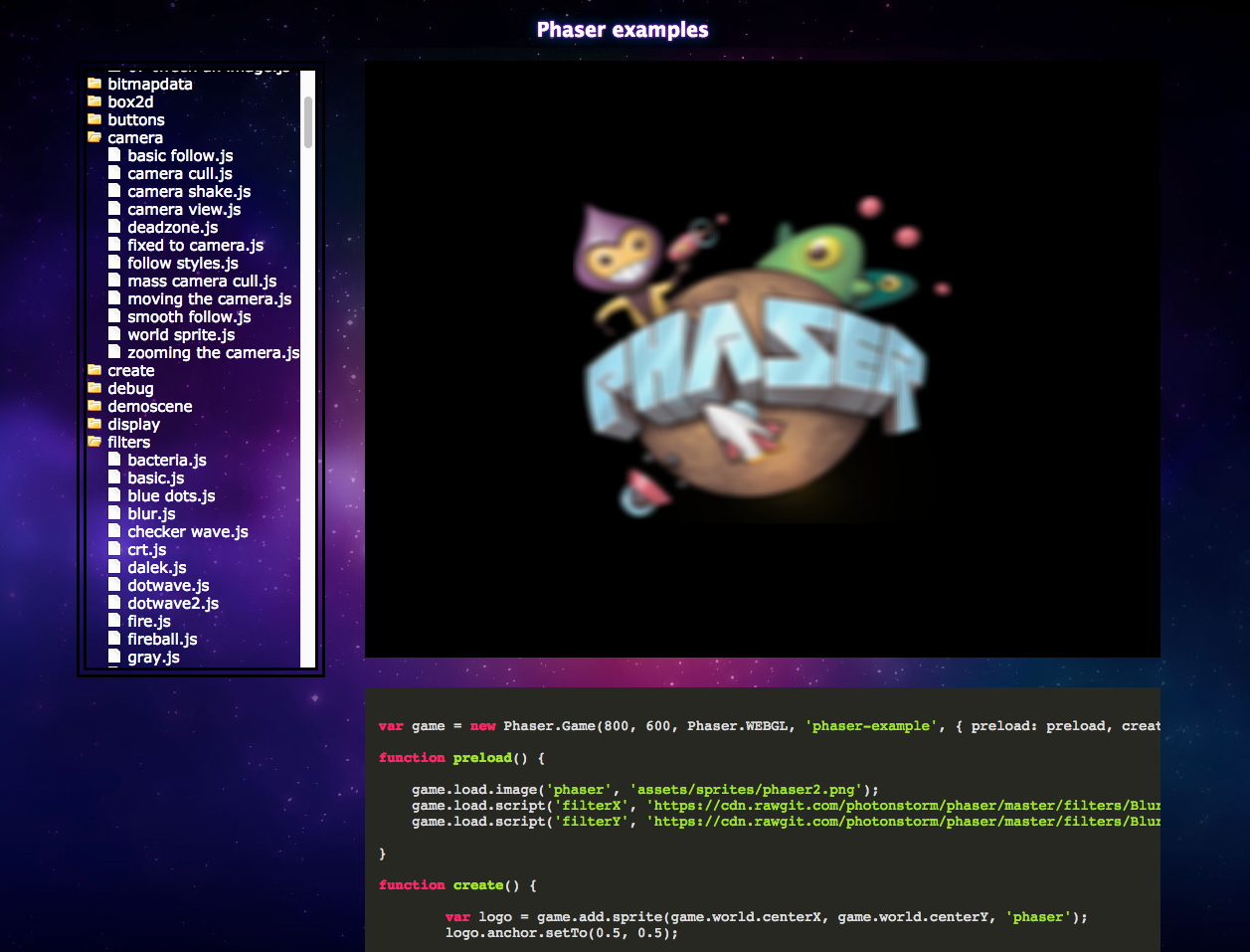 Github Stormslowlynode Phaser Example Server A Local Server To