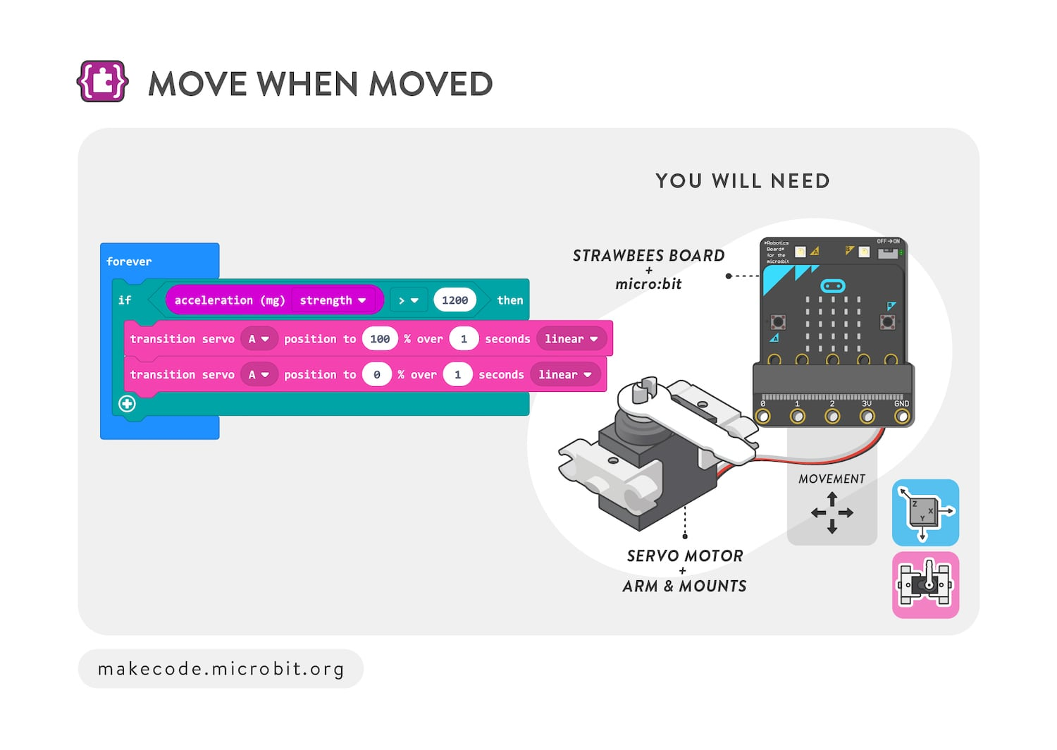 Move when moved