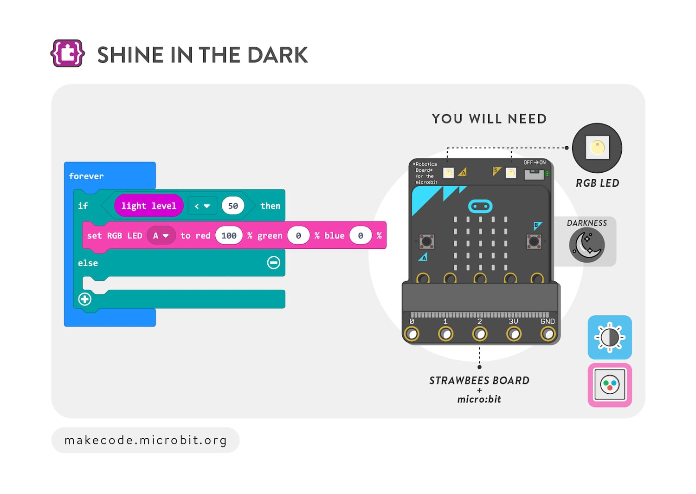 Shine in the dark
