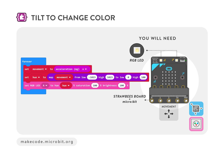 Tilt to change color