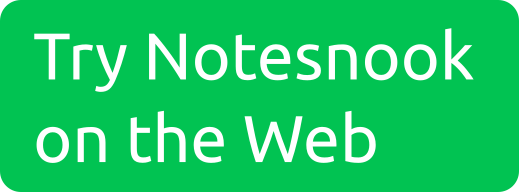 Try Notesnook on the Web